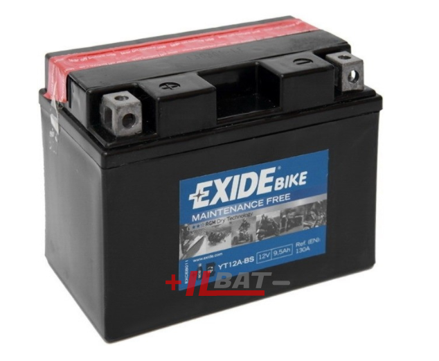Exide Bike AGM 12V 9,5Ah 130A ET12A-BS