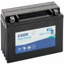 Exide Bike AGM Ready 12V 21Ah 350A AGM12-23
