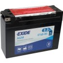 Exide Bike AGM 12V 2,3Ah 35A ET4B-BS