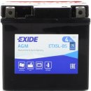 Exide Bike AGM 12V 4Ah 70A ETX5L-BS