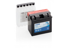 Exide Bike AGM 12V 6Ah 90A ETX7A-BS